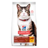 Alimento-para-gatos-Hills-Adultos-Hairball-Control