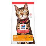 Alimento-para-gatos-Hills-Adultos-Light