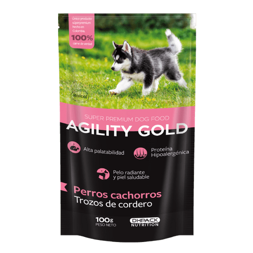 Agility-Gold-Trozos-De-Cordero-Cachorro