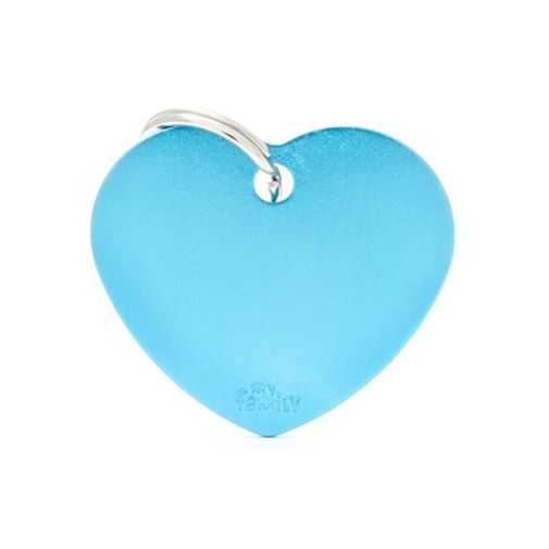 Placa-corazon-aluminio-celeste-basic