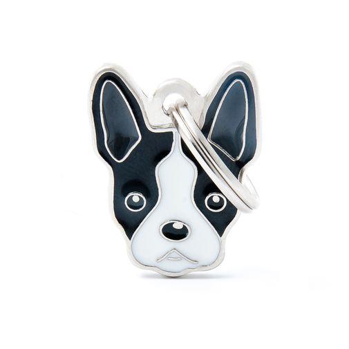 Placa-Boston-Terrier-Friends-My-Family
