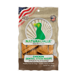 Snack-Para-Perro--Natural-Value-Chicken-Flavor-Dental-Sticks