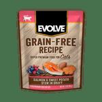 Alimento-Humedo-Para-Gato-Evolve-Grain-Free-Pouche-Salmon-Y-Patatas-Dulces
