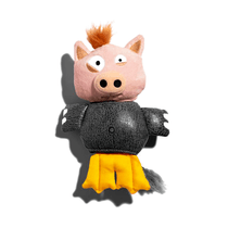 Juguete-Para-Perro-Animal-Mutante-Zee.Dog-Porkdufant-