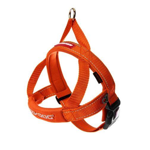 arnes-para-perro-ezydog-quick-fit-naranja-