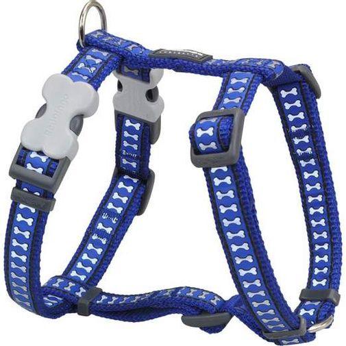 pechera-perro-reflective-bones-azul-oscuro-m