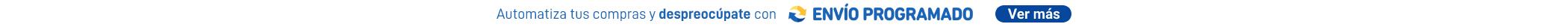 Envio Programado banner top